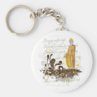 The Four Noble Truths Keychain