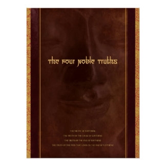 The Four Noble Truths of Buddhism, print
