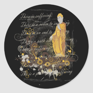 The Four Noble Truths Stickers