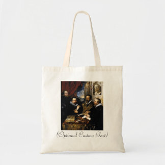 The Four Philosophers Budget Tote Bag