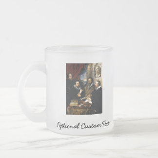 The Four Philosophers Frosted Glass Coffee Mug