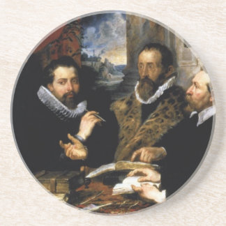 The Four Philosophers Sandstone Coaster