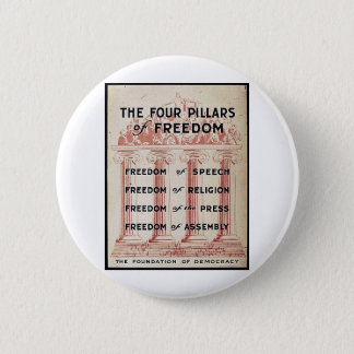 The Four Pillars Of Freedom Button