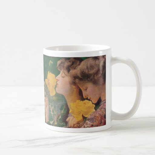 The Four Roses by Frant Dvorak Coffee Mug