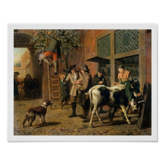 The Four Seasons, Autumn (oil on canvas) (see 1667 Poster