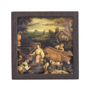 The Four Seasons: Autumn Premium Trinket Boxes