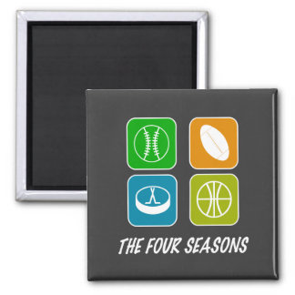 The Four Seasons Magnet