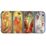 The Four Seasons series 3 by Mucha Barely There iPhone 6 Plus Case