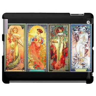 The Four Seasons series 3 by Mucha iPad case