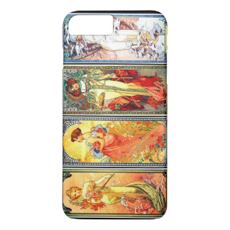 The Four Seasons series 3 by Mucha iPhone 8 Plus/7 Plus Case