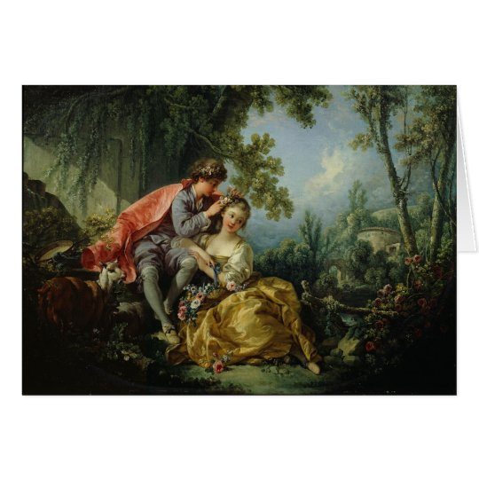The Four Seasons, Spring - François Boucher Card