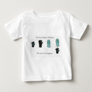The Four Stages Of Winter Baby T-Shirt