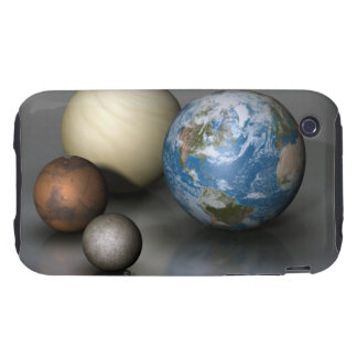 The Four Terrestrial Planets iPhone 3 Tough Cover