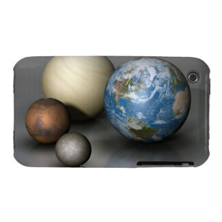 The Four Terrestrial Planets iPhone 3 Case