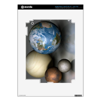 The Four Terrestrial Planets Decal For iPad 3