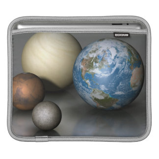 The Four Terrestrial Planets iPad Sleeve