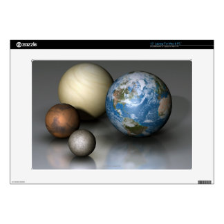 The Four Terrestrial Planets Laptop Skins