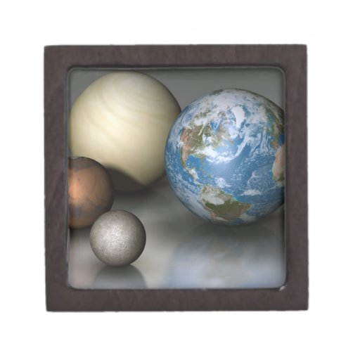 The Four Terrestrial Planets Premium Gift Box