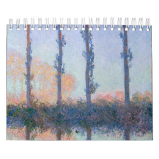 The Four Trees by Claude Monet Calendar