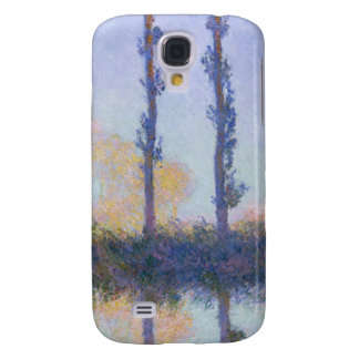 The Four Trees - Claude Monet Galaxy S4 Cases