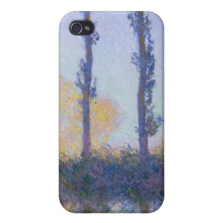 The Four Trees - Claude Monet iPhone 4 Cover
