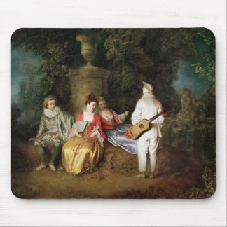 The Foursome, c.1713 Mouse Pad