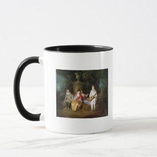 The Foursome, c.1713 Mug