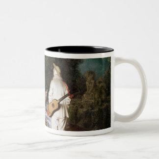 The Foursome, c.1713 Two-Tone Coffee Mug