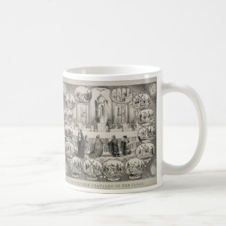 The Fourteen Stations of the Cross by J.L. Giles Coffee Mug