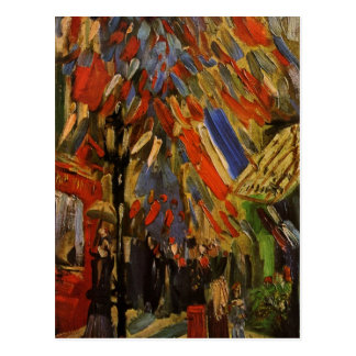 The Fourteenth of July Celebration in Paris Postcard