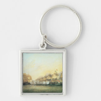 The fourth action off Trincomalee Keychain