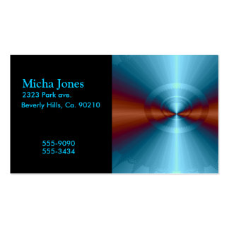 The Fourth Dimension Fractal Business Card