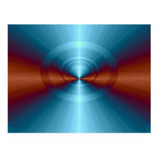 The Fourth Dimension Fractal Postcard