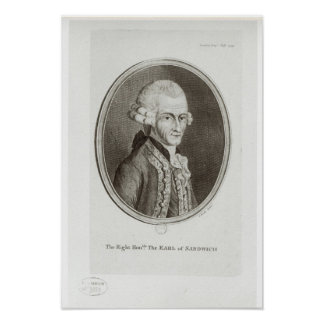 The Fourth Earl of Sandwich Poster