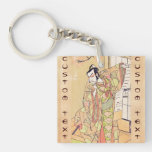 The Fourth Ichikawa Danjuro as a Samurai of High Acrylic Key Chain