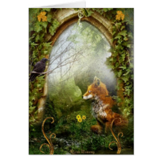 The Fox and the Crow Card