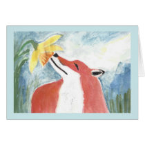 The Fox and the Daffodil
