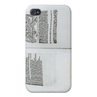 The Fox and the Grapes Case For iPhone 4