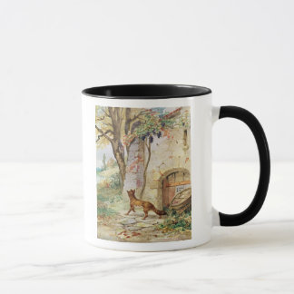 The Fox and the Grapes, illustration for Mug