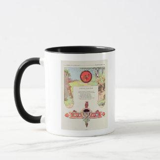 The fox and the grapes mug