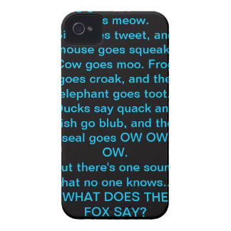 The Fox iPhone 4 Case-Mate Cases