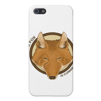 The fox is cunning not news Electronic Case iPhone 5 Covers