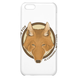 The fox is cunning not news Electronic Case Cover For iPhone 5C