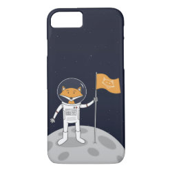 The Fox on the Moon iPhone 7 Case