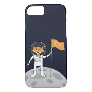 The Fox on the Moon iPhone 8/7 Case