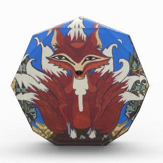 The fox with nine tails acrylic award