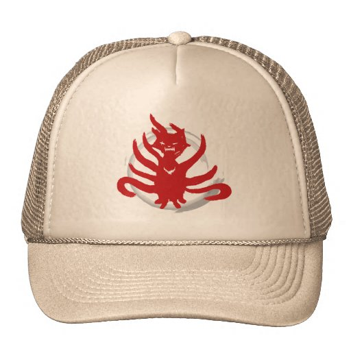 The fox with nine tails (evil) trucker hat