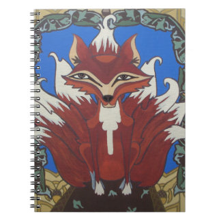 The fox with nine tails notebook