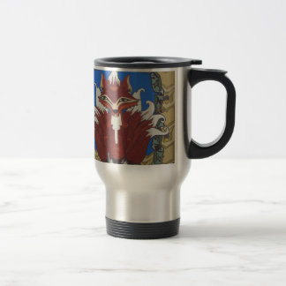 The fox with nine tails travel mug