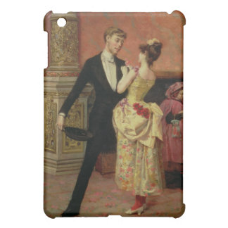 The Foyer of the Lyceum Theatre (oil on canvas) iPad Mini Cases